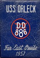 USS Orleck Cruise Books