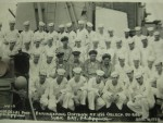 Gilbert Thornton (1950-52) on board USS ORLECK photo by Dave Thornton