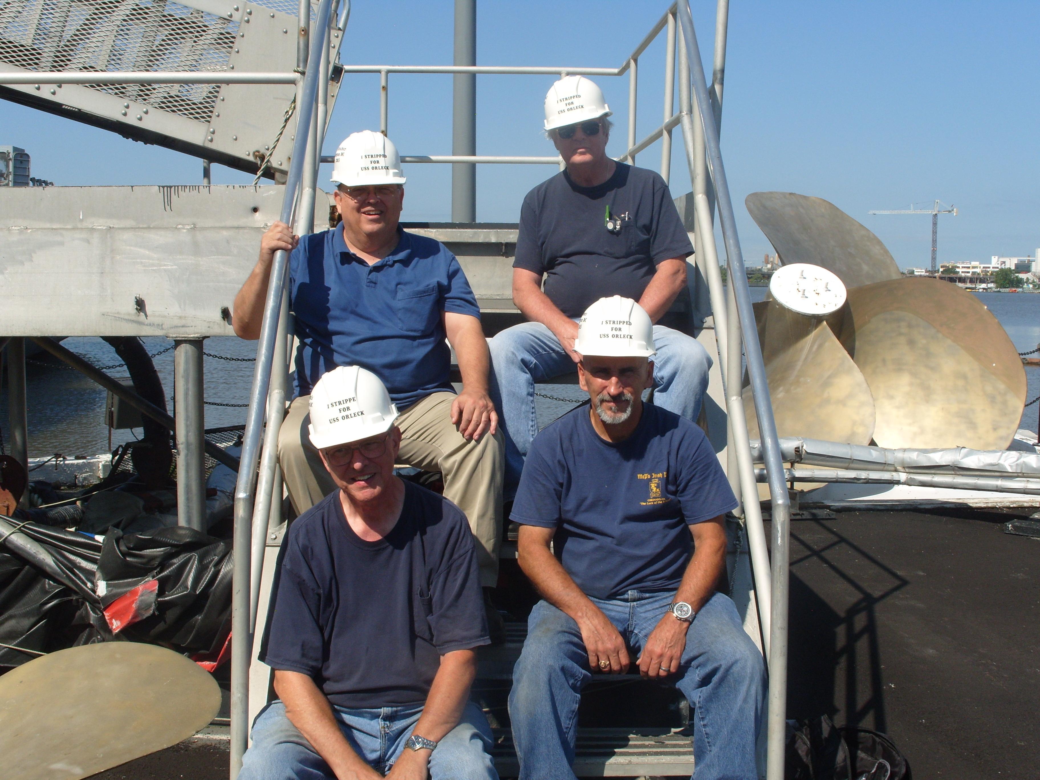 USS Orleck Strip Team 2015 004